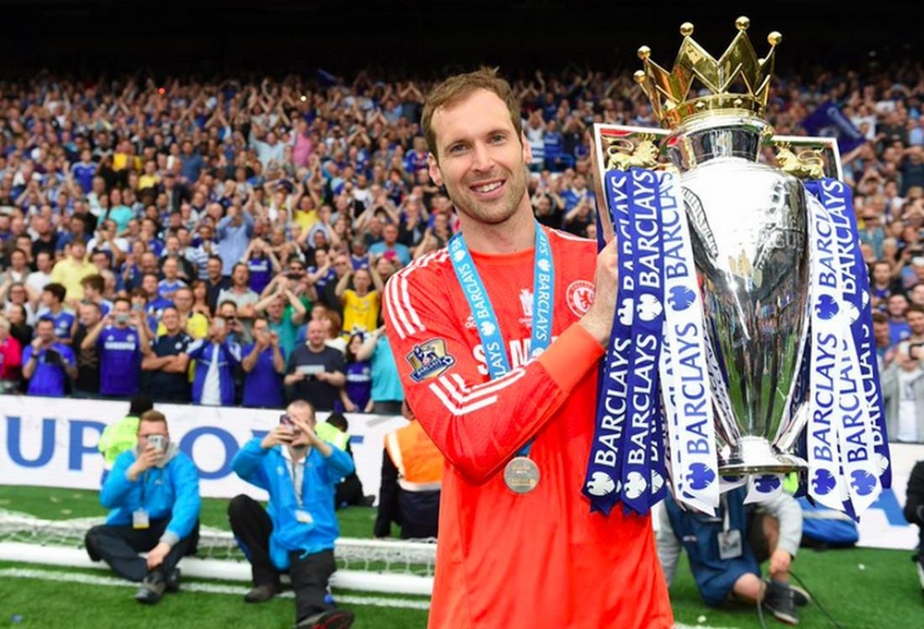 Petr Cech,  Chelsea vs Arsenal anh 3