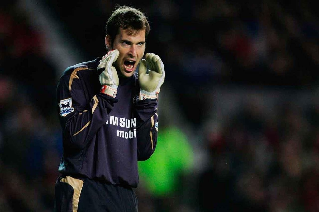 Petr Cech,  Chelsea vs Arsenal anh 4