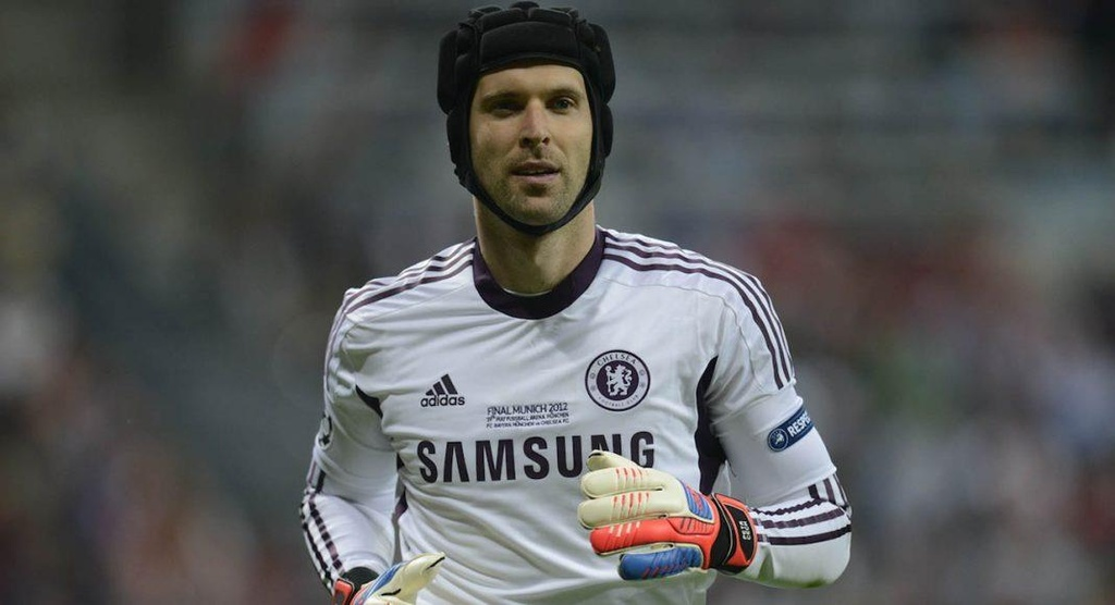 Petr Cech,  Chelsea vs Arsenal anh 9