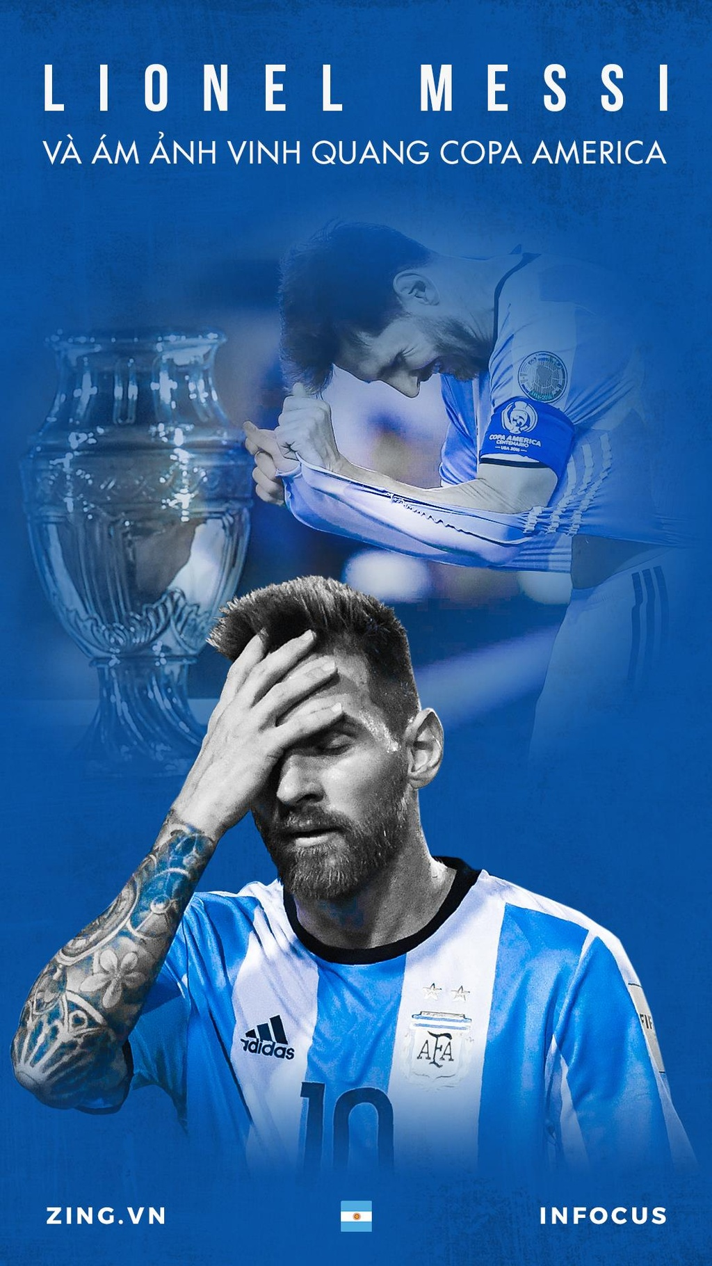 Argentina,  Messi,  Copa America anh 1