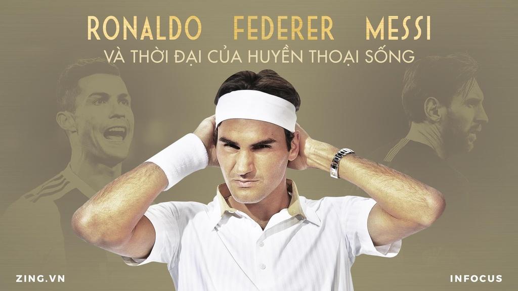 Federer, Ronaldo, Messi va thoi dai cua huyen thoai song hinh anh 2