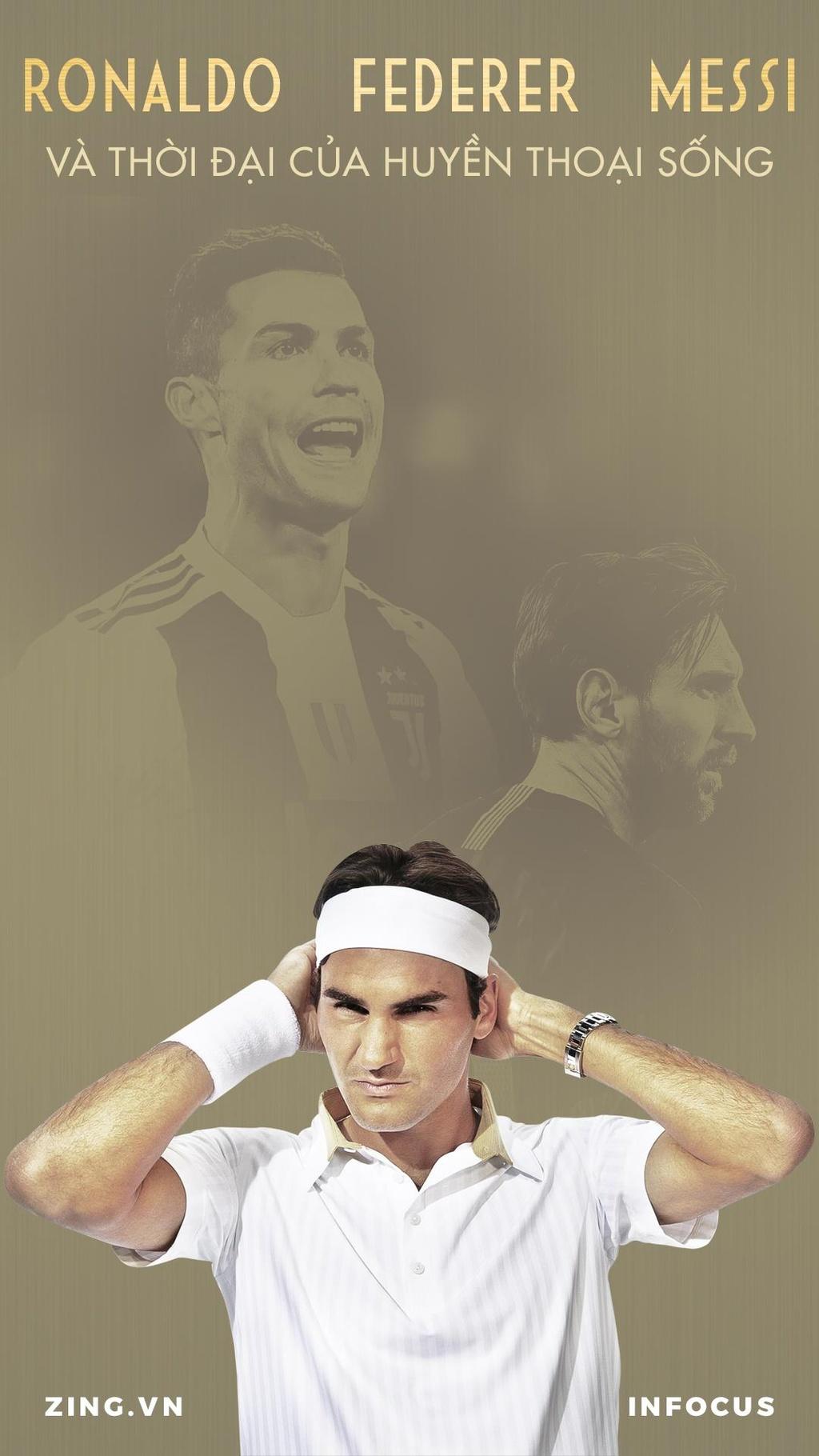 Federer, Ronaldo, Messi va thoi dai cua huyen thoai song hinh anh 1