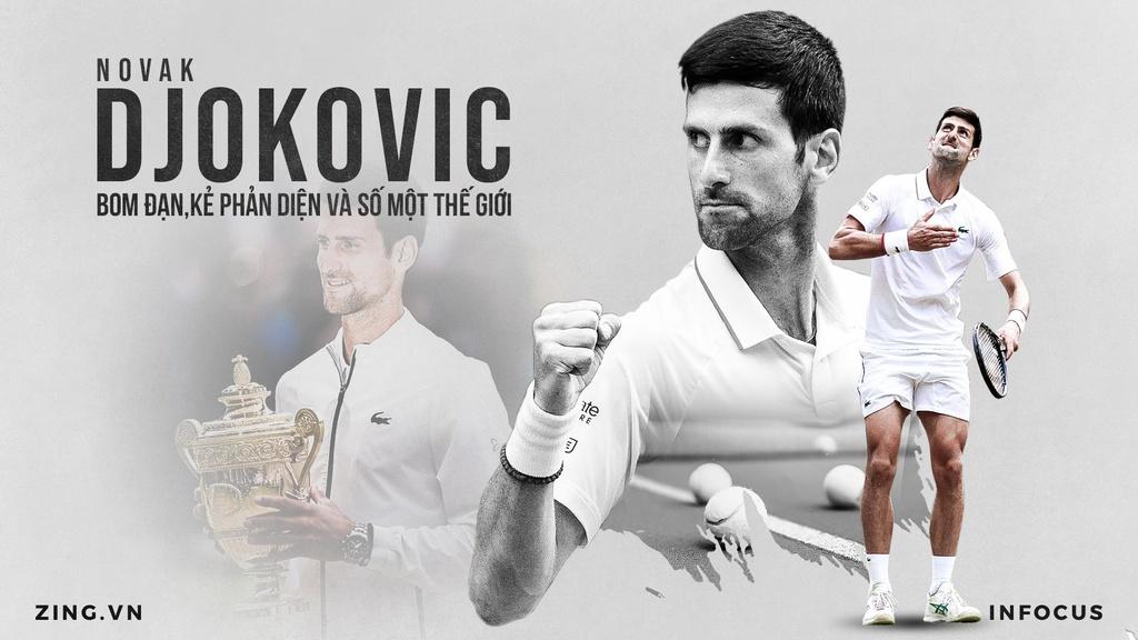 Novak Djokovic - bom dan, ke phan dien va so mot the gioi hinh anh 2