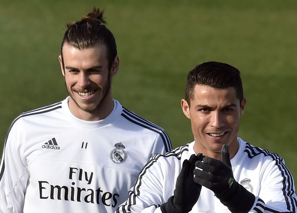 Real Madrid,  Ronaldo,  Bale anh 3