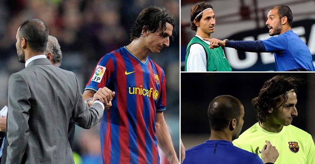 Ibrahimovic va nhung ngay bi Pep Guardiola tru dap tai Barca hinh anh 5
