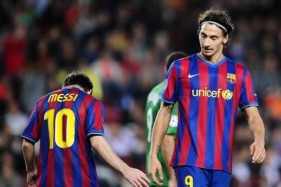 Ibrahimovic va nhung ngay bi Pep Guardiola tru dap tai Barca hinh anh 6