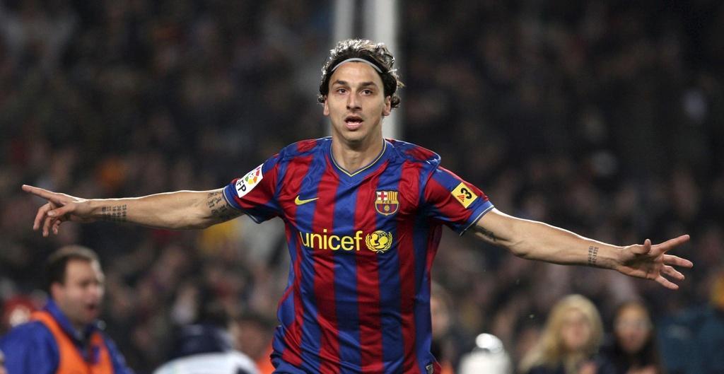 Ibrahimovic va nhung ngay bi Pep Guardiola tru dap tai Barca hinh anh 1