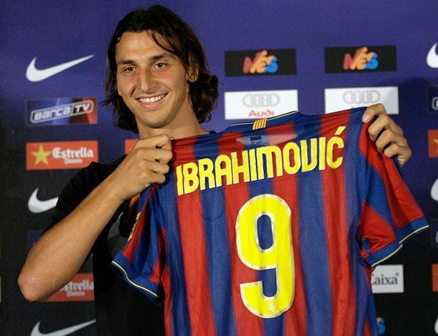 Ibrahimovic va nhung ngay bi Pep Guardiola tru dap tai Barca hinh anh 3