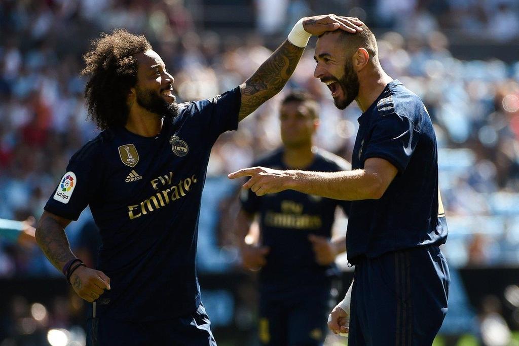 Real Madrid vs Celta Vigo,  Real Madrid anh 3
