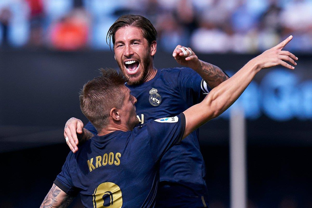 Real Madrid vs Celta Vigo,  Real Madrid anh 2