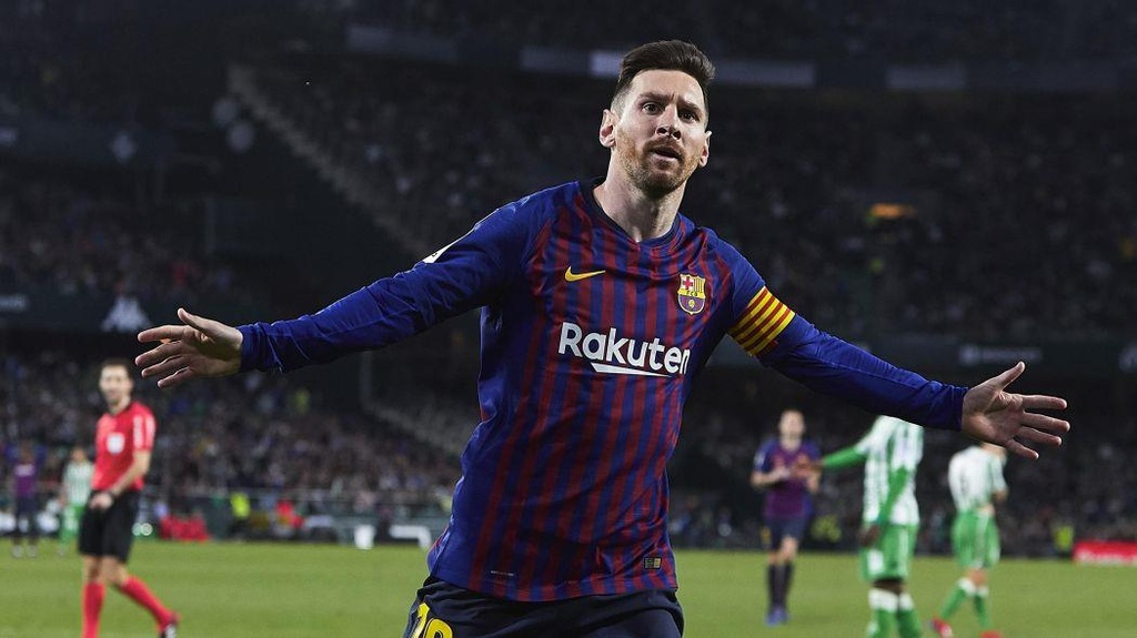 Barca,  Messi anh 3