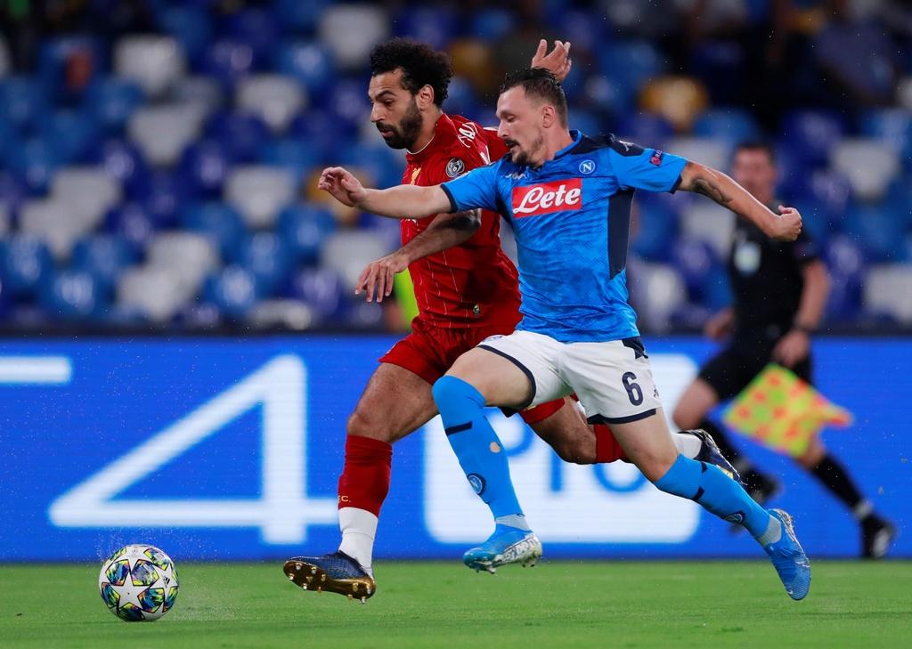 Liverpool thua Napoli anh 2