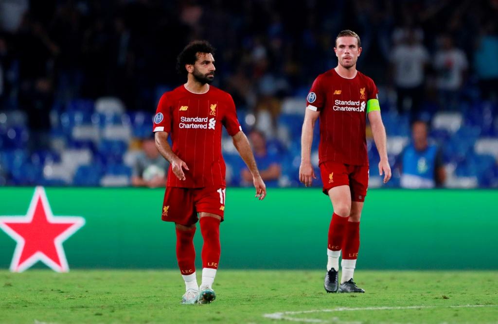 Liverpool thua Napoli anh 1