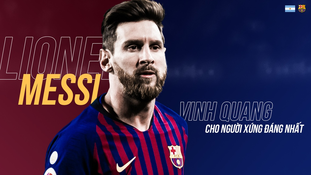 Messi gianh FIFA The Best anh 2