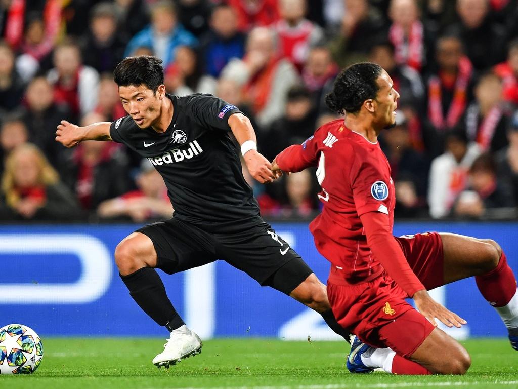 Salah lap cu dup trong tran dau co 7 ban thang cua Liverpool hinh anh 8