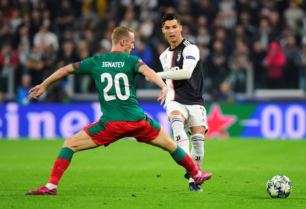 Ronaldo gao thet vi khong the ghi ban cho Juventus hinh anh 1