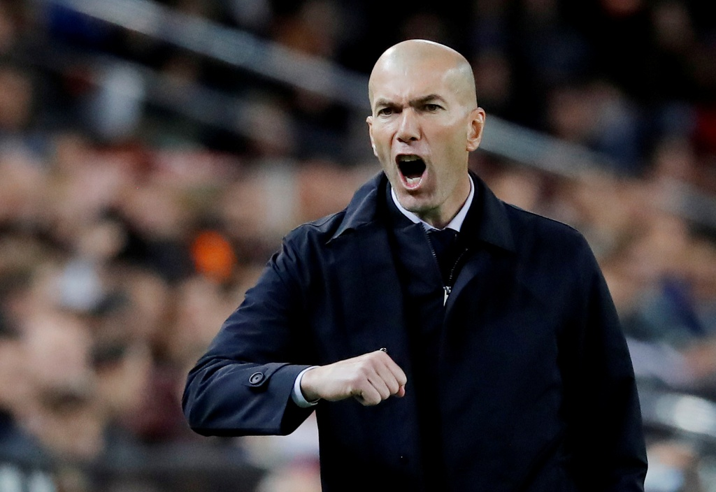 Vi sao Zidane co the khien Pep vo mong Champions League hinh anh 5 2019-12-15T212415Z_585281882_RC2XVD9AVRMJ_RTRMADP_3_SOCCER-SPAIN-VAL-MAD-REPORT.JPG