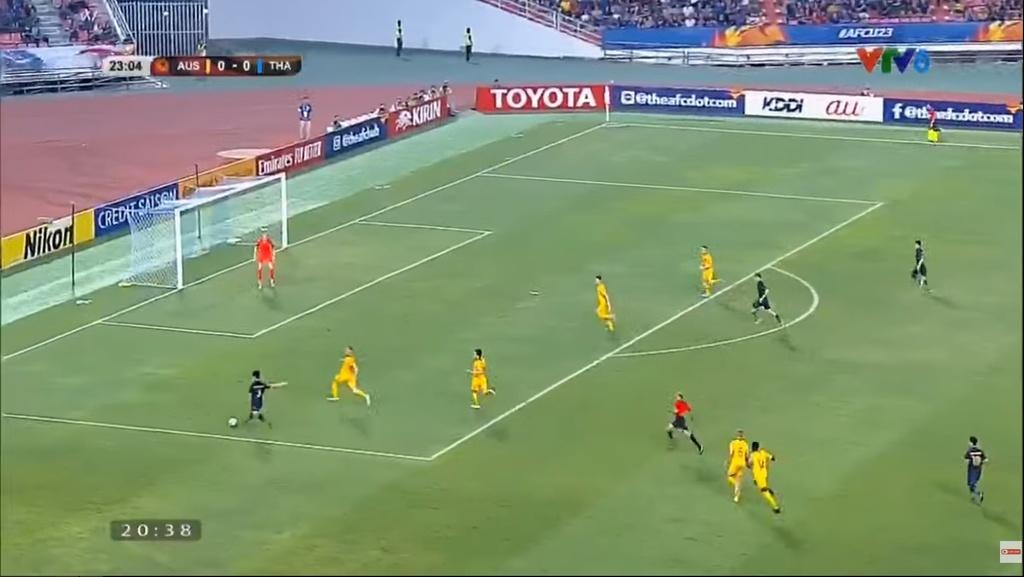 U23 Thai Lan thua Australia vi su tu tin thai qua cua HLV Nishino hinh anh 5 5.jpg