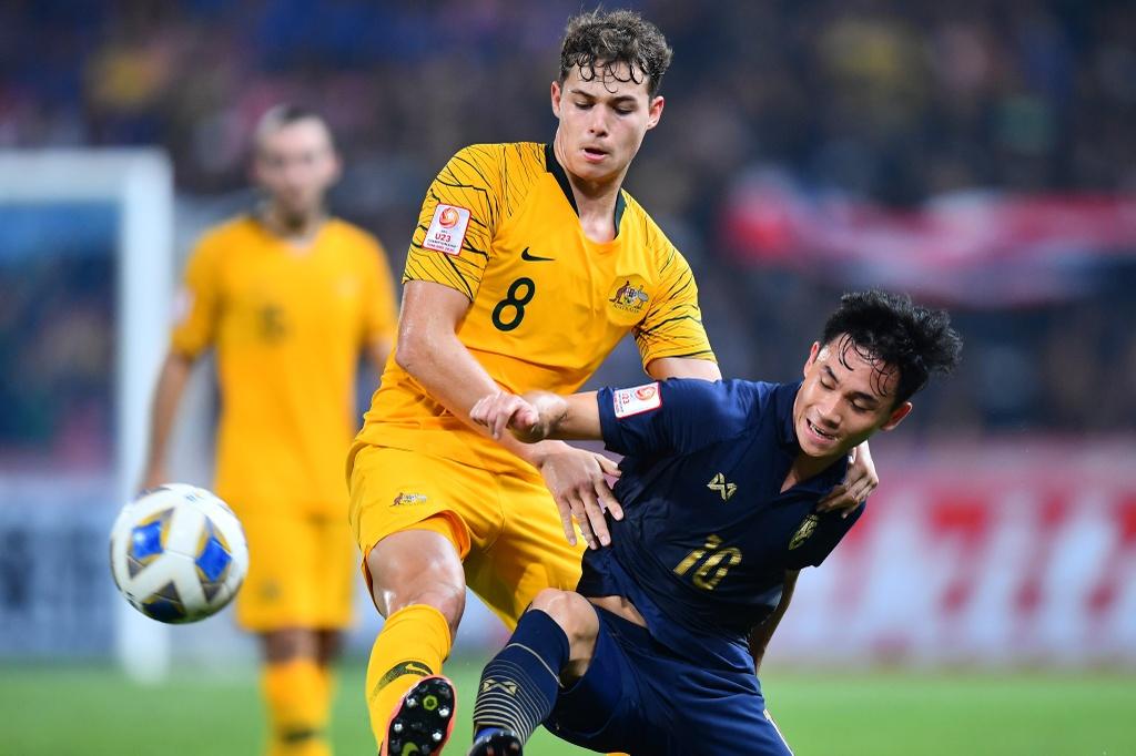 U23 Thai Lan thua Australia vi su tu tin thai qua cua HLV Nishino hinh anh 6 AFC_U_23_CHAMPIONSHIP_2020_Match_13_.jpg