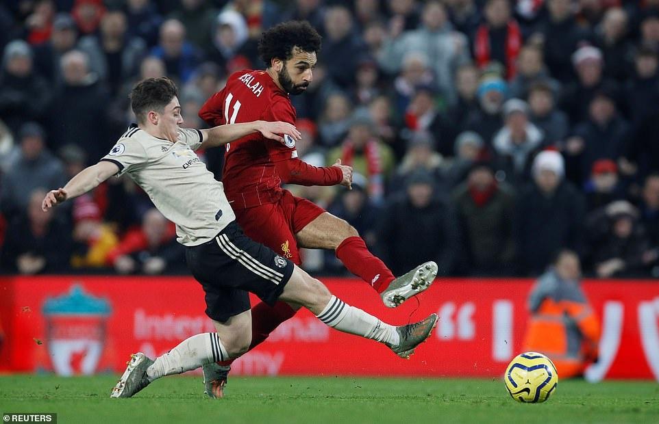 1.000 ngay bat bai va man de bep MU cua Liverpool o Anfield hinh anh 3 James1.jpg