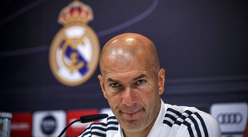 Zidane Real madrid anh 1