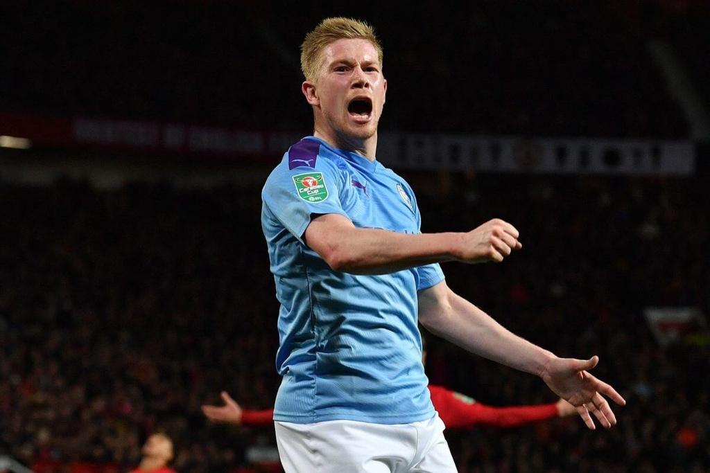 Den luc Man United tong co Pogba hinh anh 2 kevin_de_bruyne_afp.jpg