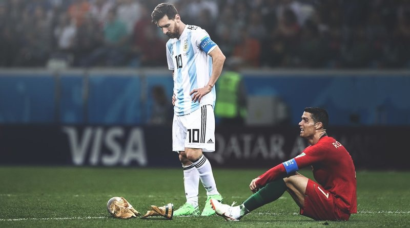 Ronaldo va messi anh 1