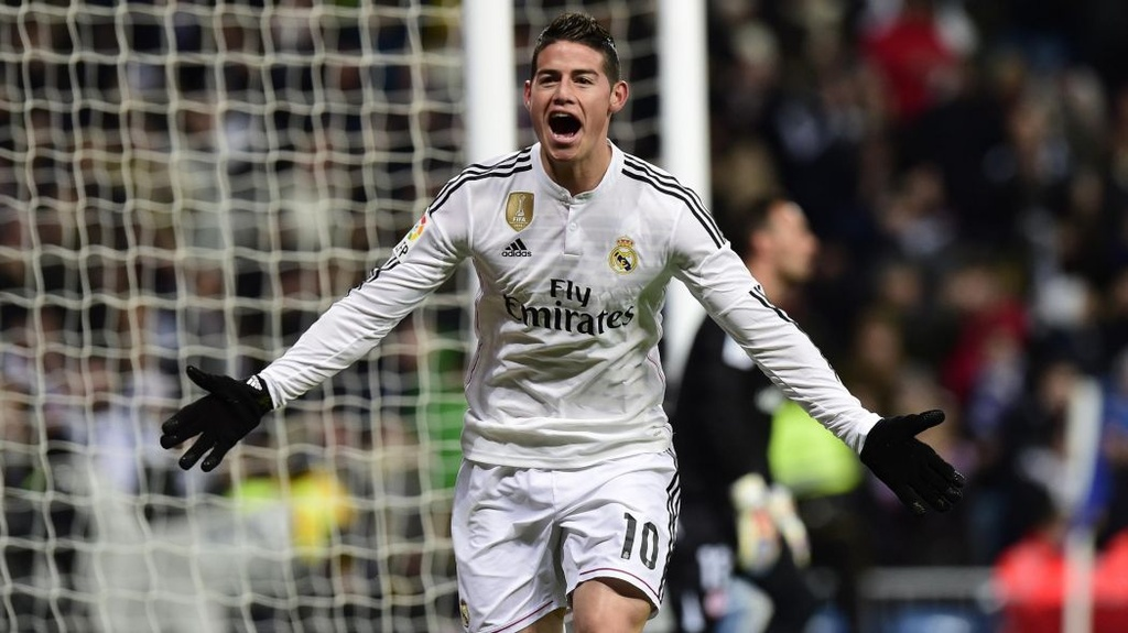 james rodriguez real madrid anh 2