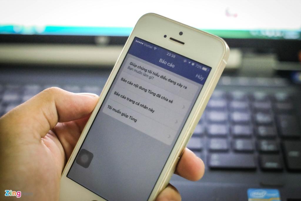 Tính năng báo cáo giúp người dùng thông báo cho Facebook những sai phạm.  Nhưng nếu nó không được quản lý chặt sẽ sinh ra rất nhiều tiêu cực.