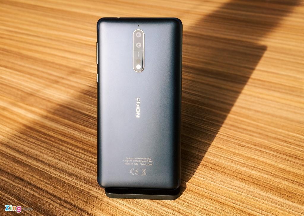 Nokia 8 chinh thuc ra mat anh 5