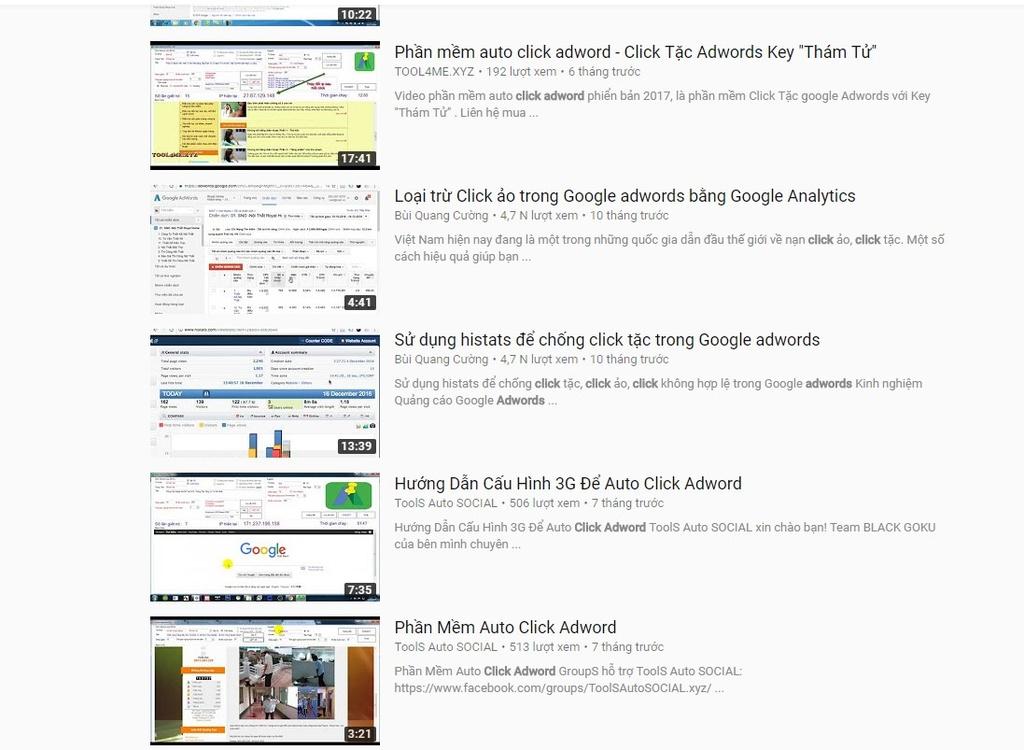 Đốt tiền vào Google Adwords với 'click tặc' tại VN - Công nghệ - ZING VN