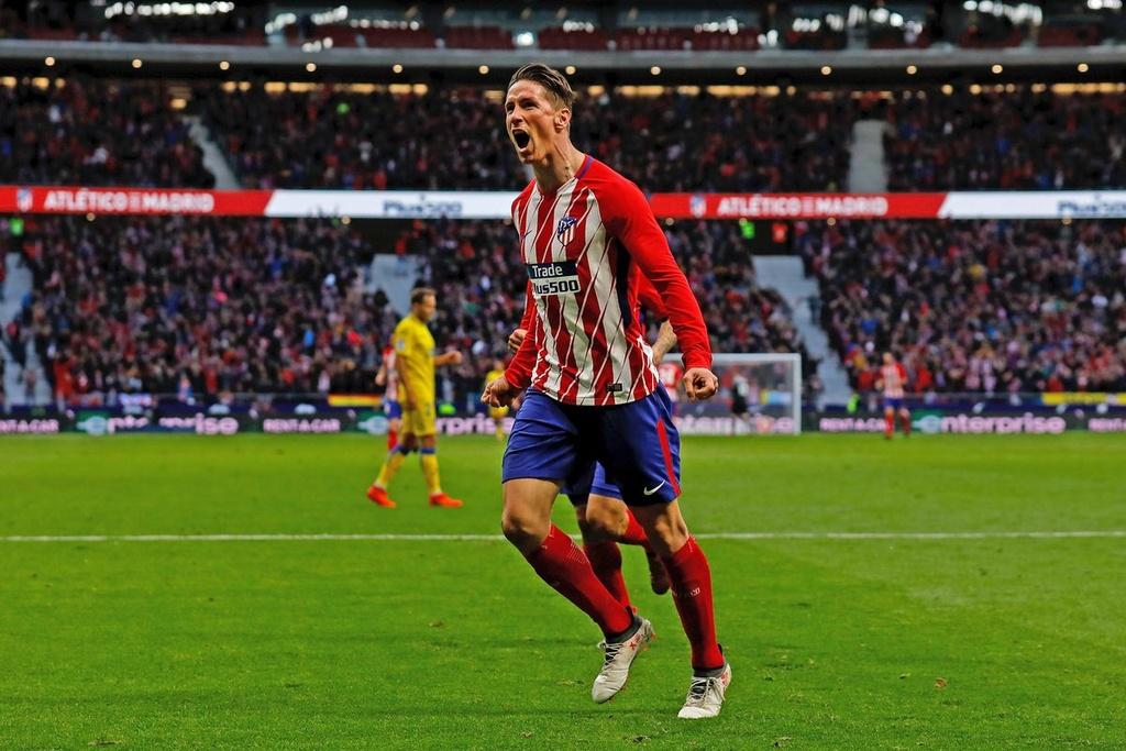 Atletico Madrid,  Diego Simeone,  Fernando Torres,  Griezmann anh 4