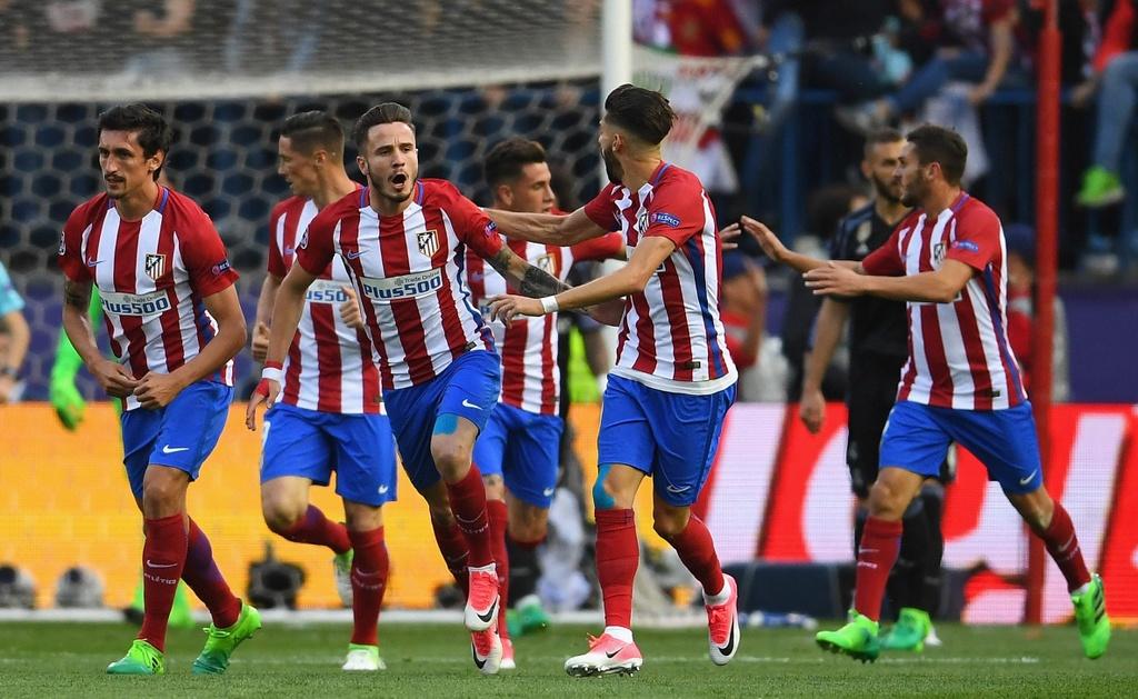 Atletico Madrid,  Diego Simeone,  Fernando Torres,  Griezmann anh 2
