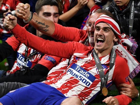 Atletico Madrid,  Diego Simeone,  Fernando Torres,  Griezmann anh 3