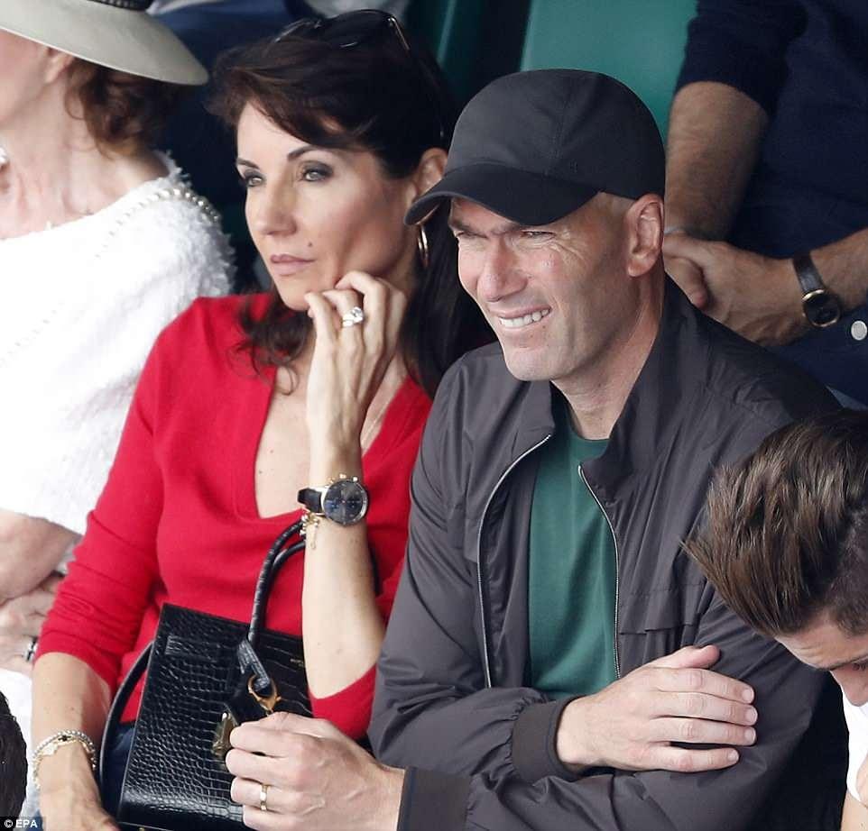 HLV Zidane chung kien tay vot Nadal keo dai ky luc o Phap mo rong hinh anh 1
