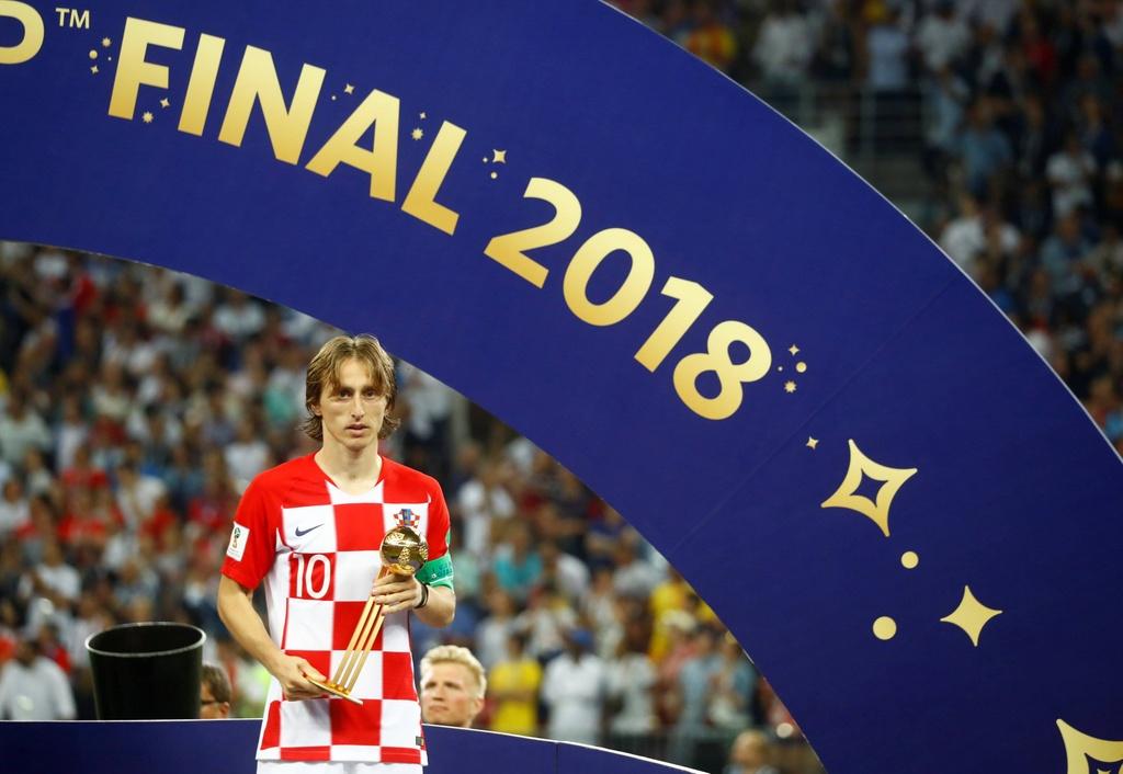 chung ket Phap Croatia,  World Cup,  Croatia,  Luka Modric anh 3