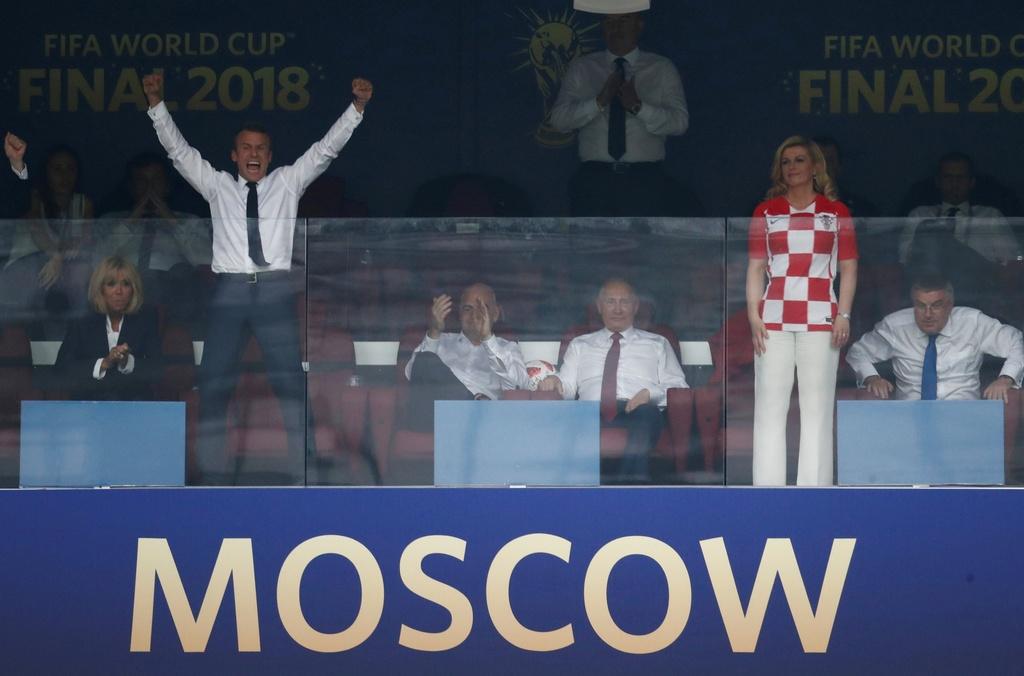 Doi tuyen Croatia,  World Cup,  Doi tuyen Phap,  chung ket anh 5