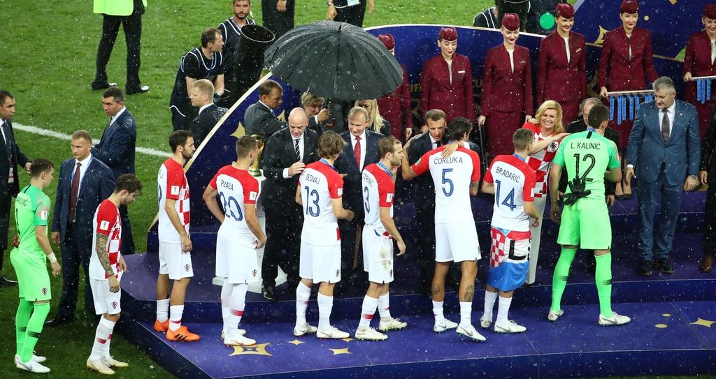 Doi tuyen Croatia,  World Cup,  Doi tuyen Phap,  chung ket anh 7