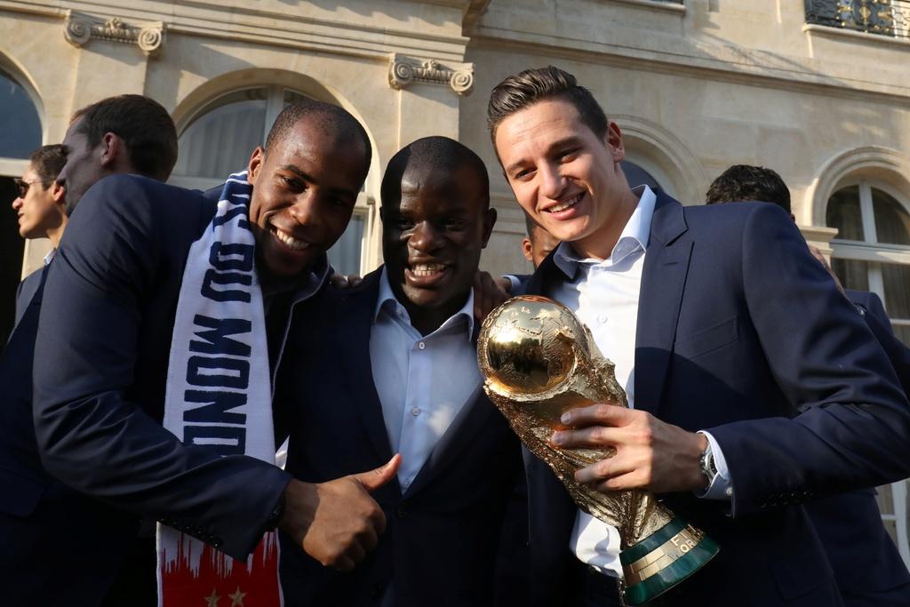 Doi tuyen Phap,  N'Golo Kante,  World Cup,  vo dich anh 3