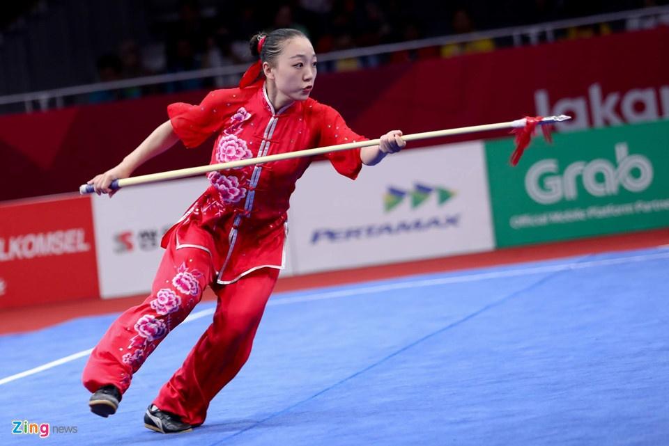 Wushu Viet Nam hut 'vang' ASIAD trong tiec nuoi hinh anh 6