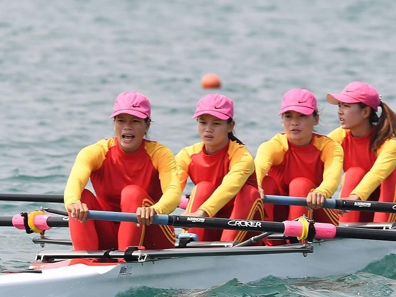 Rowing,  HCV,  ASIAD 2018 anh 1