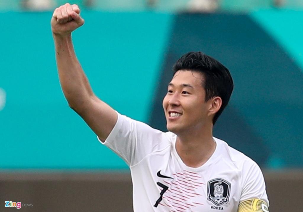 Son Heung-min - cau thu chau A cay ai nang nhat he 2018 hinh anh 1