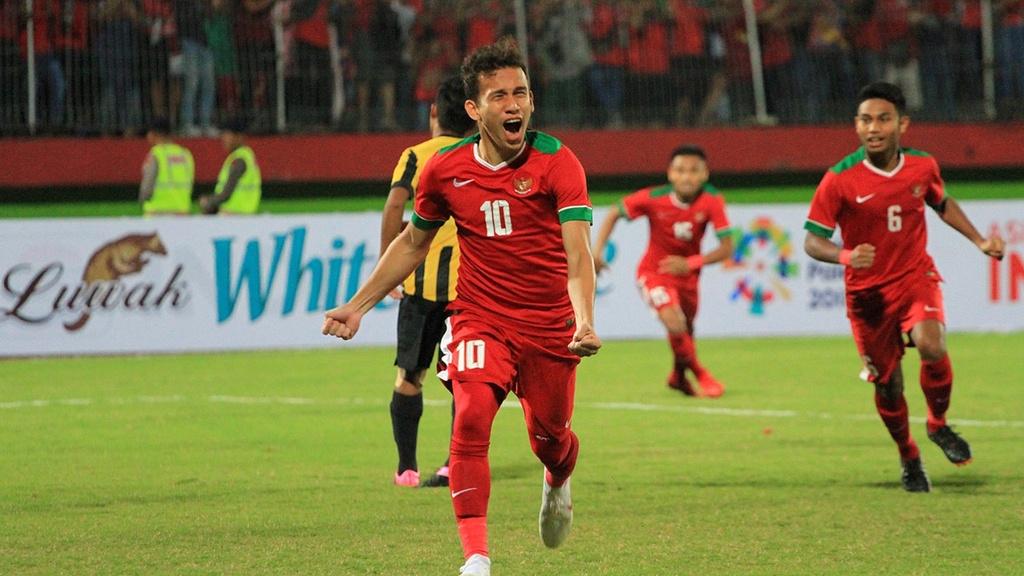 Egy Maulana,  than dong 18 tuoi,  doi tuyen Indonesia,  AFF Cup 2018 anh 3