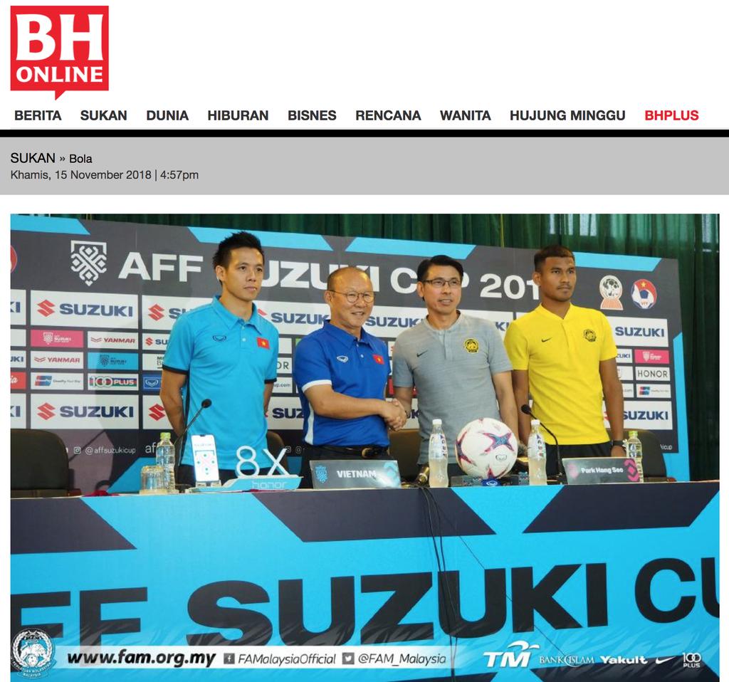 Lucky88 tổng hợp:Báo chí Malaysia tin đội nhà giành 3 điểm trên sân Mỹ Đình
