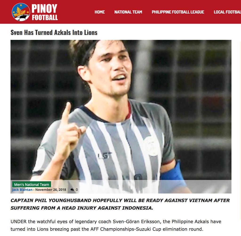 Bao chi Philippines: HLV Eriksson se viet co tich truoc tuyen Viet Nam hinh anh 1