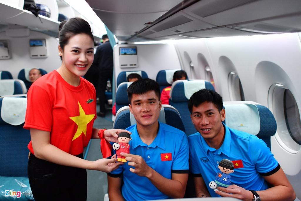 Thay tro HLV Park vui ve roi Malaysia ve nuoc hinh anh 8
