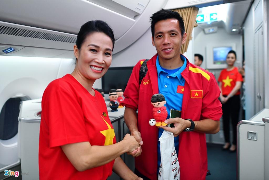 Thay tro HLV Park vui ve roi Malaysia ve nuoc hinh anh 9