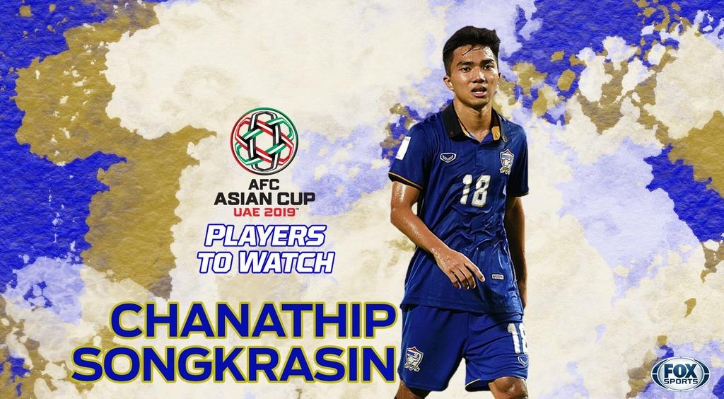 Chanathip Songkrasin,  Messi Thai Lan,  doi tuyen Thai Lan,  Asian Cup anh 3