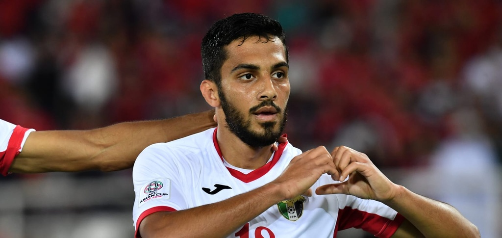 Musa Al-Taamari,  doi tuyen Jordan,  Asian Cup,  doi tuyen Viet Nam anh 1