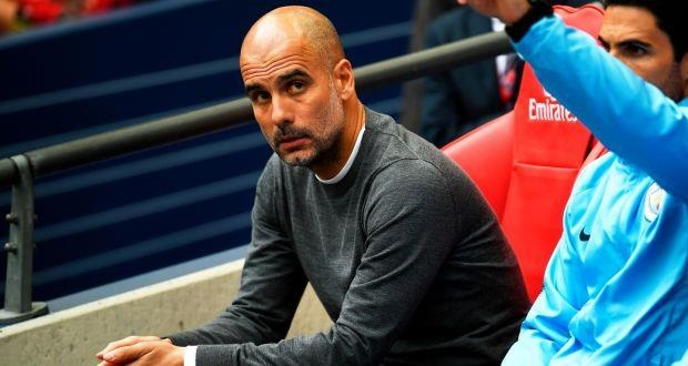 Manchester City,  Pep Guardiola,  Ngoai hang Anh,  Liverpool,  Manchester United anh 1